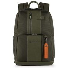 Рюкзак Piquadro Brief CA3214BR/VE зеленый натур.кожа/ткань