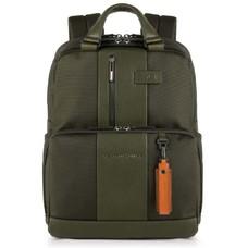 Рюкзак Piquadro Brief CA3975BR/VE зеленый натур.кожа/ткань
