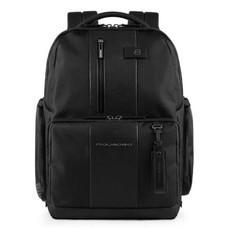 Рюкзак Piquadro Brief CA4532BR/N черный натур.кожа/ткань