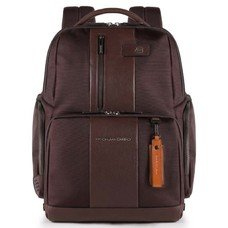 Рюкзак Piquadro Brief CA4532BR/TM темно-коричневый натур.кожа/ткань