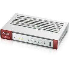 Сетевой экран ZYXEL ZyWALL VPN 50, серебристый [vpn50-ru0101f]