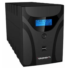 Источник бесперебойного питания Ippon Smart Power Pro II Euro 1600 840Вт 1600ВА черный