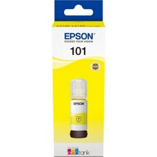 Картридж EPSON L101 желтый [c13t03v44a]
