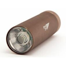 Карманный фонарь ЯРКИЙ ЛУЧ L-080 LENS, коричневый