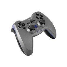 Геймпад Беспроводной CANYON CNS-GPW6, для PlayStation 2/3/PC, черный [apcnsgpw6]