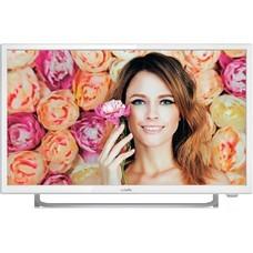"""LED телевизор BBK 24LEM-1037/FT2C """"R"""", 24"""", FULL HD (1080p), белый"""