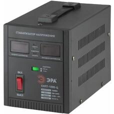 Стабилизатор напряжения ЭРА СНПТ-1000-Ц, черный [б0020158]