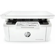 МФУ лазерный HP LaserJet Pro MFP M28a RU, A4, лазерный, белый [w2g54a]