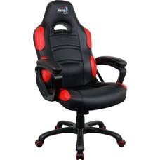 Кресло игровое Aerocool 525109 черный/красный сиденье черный/красный полиуретан крестовина металл