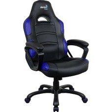Кресло игровое AEROCOOL AC80C AIR-BB, полиуретан [525113]