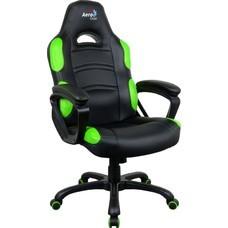 Кресло игровое AEROCOOL AC80C AIR-BG, полиуретан [525117]