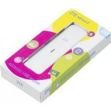 Модем 2G/3G/4G ZTE MF833T USB внешний белый