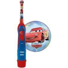 Электрическая зубная щетка ORAL-B Stages Power Cars красный [80300245]