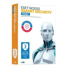 ПО Eset NOD32 Smart Security Family 3 devices 1 year Renewal Box (NOD32-ESM-RN(BOX)-1-3)