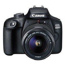 Зеркальный фотоаппарат CANON EOS 4000D KIT kit ( 18-55mm f/3.5-5.6), черный [3011C003]