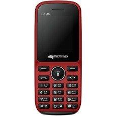 Мобильный телефон MICROMAX X415 красный