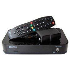 Комплект спутникового телевидения Триколор Full HD GS B521HL + HDD Дальний Восток черный