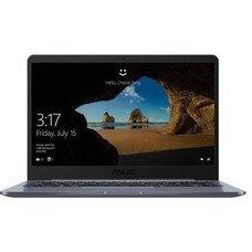 "Ноутбук ASUS VivoBook E406SA-BV017T, 14"", Intel Celeron N3060 1.6ГГц, 4Гб, 32Гб eMMC, Intel HD Graphics 400, Windows 10, 90NB0HK1-M03700, серый"
