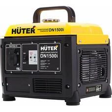 Бензиновый генератор HUTER DN1500i, 220 В, 1.2кВт [64/10/4]
