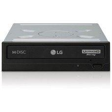 Оптический привод Blu-Ray LG BH16NS60, внутренний, SATA, черный, OEM