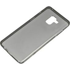 Чехол (клип-кейс) REDLINE iBox Crystal, для Samsung Galaxy A8+, серый [ут000014037]