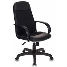 Кресло руководителя БЮРОКРАТ CH-808AXSN, на колесиках, искусственная кожа/сетка [ch-808axsn/lbl+tw-11]