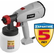 Краскопульт Зубр КПЭ-350 350Вт бак:800мл 700мл/мин