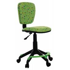 Кресло детское Бюрократ CH-204-F/CACTUS-GN зеленый кактусы колеса зеленый