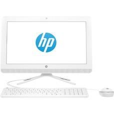 """Моноблок HP 20-c400ur, 19.5"""", AMD E2 9000, 4Гб, 500Гб, AMD Radeon R2, DVD-RW, Free DOS 2.0, белый [4gu01ea]"""