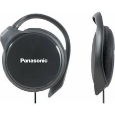 Наушники PANASONIC RP-HS46E, накладные, черный, проводные