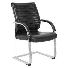 Кресло Бюрократ T-8010-LOW-V/BLACK черный искусственная кожа