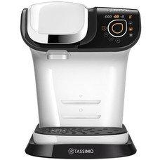 Кофемашина Bosch Tassimo TAS6004 1500Вт белый/черный