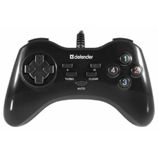 Геймпад Defender Game Master G2 черный для: PC (64258)