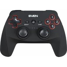 Геймпад Беспроводной Sven GC-2040 черный для: PC/PlayStation 3