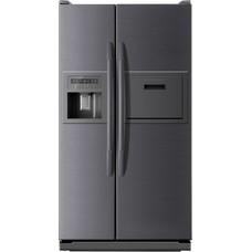 Холодильник Daewoo FRS-6311SFG серебристый (двухкамерный)