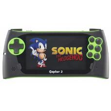 Игровая консоль Sega Genesis Gopher 2 черный/зеленый в комплекте: 700 игр