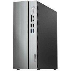 Компьютер LENOVO IdeaCentre 510S-07ICB, Intel Celeron G4900, DDR4 4Гб, 1000Гб, Intel UHD Graphics 610, Free DOS, серебристый [90k8001urs]
