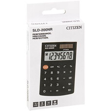 Калькулятор карманный Citizen SLD-200NR черный 8-разр.