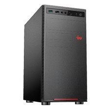 ПК IRU Home 120 MT E2 3000 (1.3)/2Gb/SSD120Gb/HD8280/Free DOS/GbitEth/400W/черный