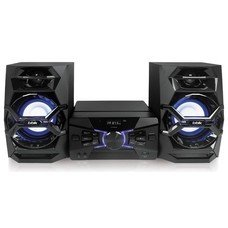 Минисистема BBK AMS118BT черный/темно-синий 120Вт/CD/CDRW/FM/USB/BT