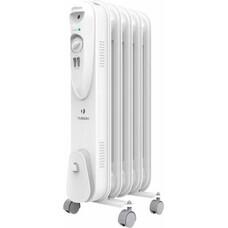 Масляный радиатор TIMBERK TOR 21.1005 SLX, 1000Вт, белый