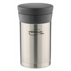Термос THERMOS ThermoCafe DFJ-500 food flask, 0.5л, стальной/ черный