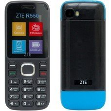 Мобильный телефон ZTE R550, черный/синий