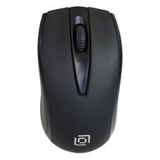Мышь Oklick 325M черный оптическая (1000dpi) USB (2but)