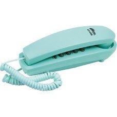 Проводной телефон RITMIX RT-005, бирюзовый