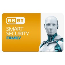 ПО Eset NOD32 Smart Security Family 3 devices 1 year Renewal Card (NOD32-ESM-RN(CARD)-1-3)