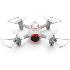 Квадрокоптер Syma X22 WiFi ПДУ белый/красный