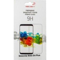 Защитное стекло для экрана REDLINE для Motorola Moto E4 Plus, гибридная, 1 шт [ут000016860]