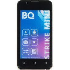 Смартфон BQ Strike Mini 4072, золотистый