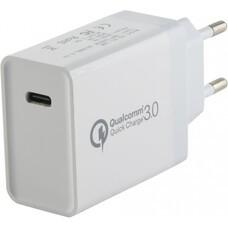 Сетевое зарядное устройство REDLINE PD1-3A, USB type-C, 3A, белый